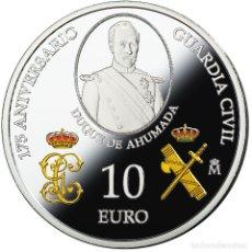 Monedas de Felipe VI: ESPAÑA 10 EURO PLATA 2019 PROOF 175 ANIVERSARIO DE LA GUARDIA CIVIL. Lote 182344987
