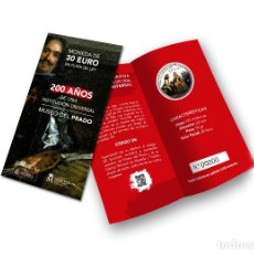 Monedas de Felipe VI: ESPAÑA SET OFICIAL 30 EURO PLATA 2018 LAS MENINAS - 200 AÑOS DEL MUSEO DEL PRADO. Lote 182994548