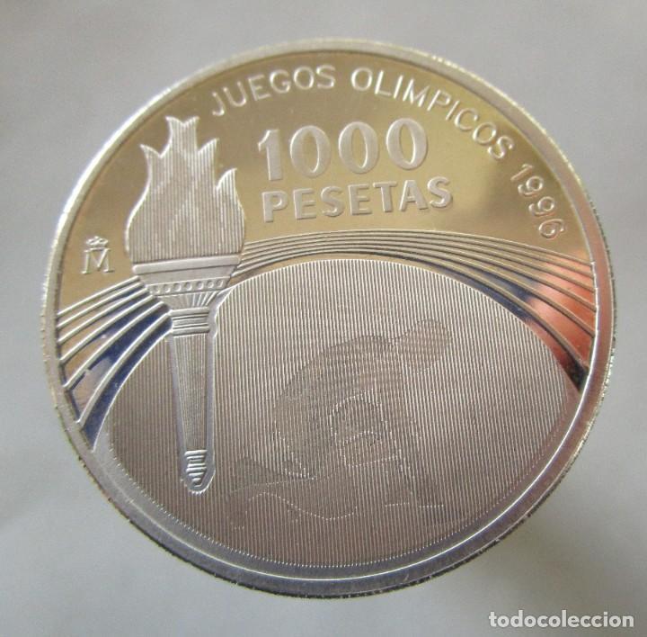 JUEGOS PARALIMPICOS . 1000 PESETAS DE PLATA . AÑO 1996 (Numismática - España Modernas y Contemporáneas - Felipe VI)