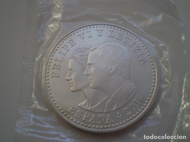 Monedas de Felipe VI: 30 Euros Plata 2016 - IV Centenario de Cervantes. - Foto 2 - 189334968