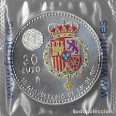 Monedas de Felipe VI: MONEDA 30 EUROS 2018. 50º ANIVERSARIO DE FELIPE VI. Lote 189651573
