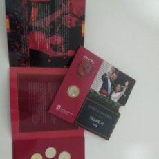 Monedas de Felipe VI: CARTERA EUROS ESPAÑA 2015 FELIPE VI. Lote 190027462
