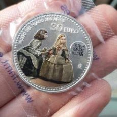 Monedas de Felipe VI: MONEDA PLATA DE 30€ 2019. BICENTENARIO MUSEO DEL PRADO, MENINAS.. Lote 192656181