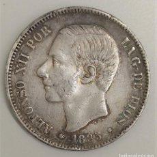 Monedas de Felipe VI: 1885 ESPAÑA - 5 PESETAS - ALFONSO XII MSM - MBC+ PLATA. Lote 193949830