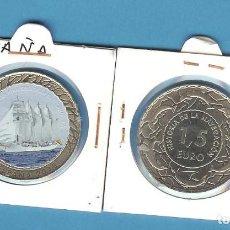 Monedas de Felipe VI: ESPAÑA. 1,5 EUROS 2018. SERIE NAVEGACIÓN BUQUE ESCUELA JUAN SEBASTIÁN ELCANO. Lote 194287932