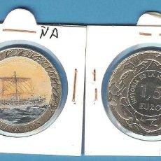 Monedas de Felipe VI: ESPAÑA. 1,5 EUROS 2018. SERIE NAVEGACIÓN NAVE DE COMBATE FENICIA. Lote 194288655