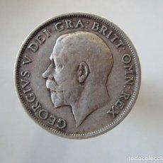 Monedas de Felipe VI: JORGE V . 1 SHILLINGS DE PLATA ANTIGUO . AÑO DE 1917 . Lote 194951805