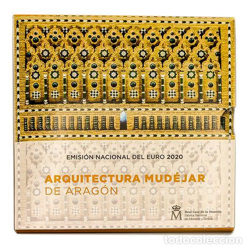 SET EUROS ESPAÑA 2020 FNMT - CARTERA OFICIAL ARQUITECTURA MUDEJAR DE ARAGON (Numismática - España Modernas y Contemporáneas - Felipe VI)