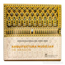 Monedas de Felipe VI: SET EUROS ESPAÑA 2020 FNMT - CARTERA OFICIAL ARQUITECTURA MUDEJAR DE ARAGON. Lote 196457158