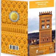 Monedas de Felipe VI: ESPAÑA CARTERITA OFICIAL 2 EURO 2020 LA TORRE DEL SALVADOR DE TERUEL PROOF. Lote 276933153