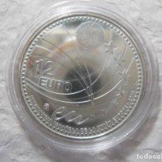 Monedas de Felipe VI: 12 EUROS PLATA 2010 ESPAÑA - PRESIDENCIA ESPAÑOLA DE LA UNIÓN EUROPEA. ENCAPSULADA. Lote 39843213