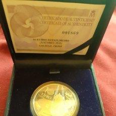 Monedas de Felipe VI: 10 EUROS PLATA, XACOBEO 2010. ESTUCHE + CERTIFICADO. Lote 206791270