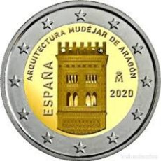 Monedas de Felipe VI: ESPAÑA , MONEDA CONMEMORATIVA 2 € AÑO 2020 TORRE DEL SALVADOR EN TERUEL. Lote 209796993
