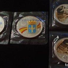Monedas de Felipe VI: 4 MONEDAS 30 EUROS PLATA. Lote 212560338