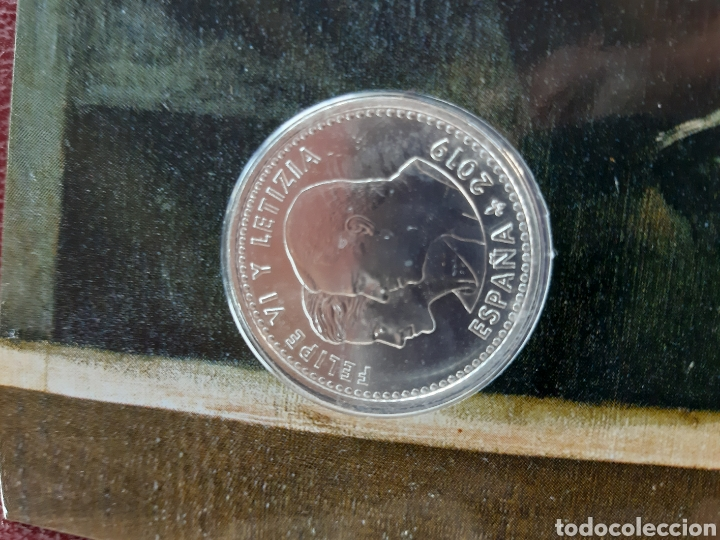 Monedas de Felipe VI: Moneda de 30 € conmemorativa de los 200 años del museo del prado con codigo QR - Foto 4 - 213496605