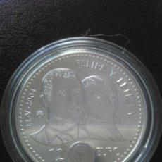 Moedas de Felipe VI: LOTE 6 MONEDAS, 12 EUROS,2004,FELIPE Y LETIZIA,PLATA. Lote 214360032