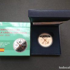Monedas de Felipe VI: MONEDA DE 10 EUROS DEL CENTENARIO DE LA LEGION ESPAÑOLA.1920-2020.. Lote 216363097