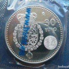 Moedas de Felipe VI: 30 EUROS 2014. ESCUDO. Lote 216383955