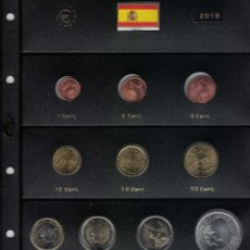 Monedas de Felipe VI: FELIPE VI AÑO COMPLETO 2019. SIN CIRCULAR. Lote 216707542