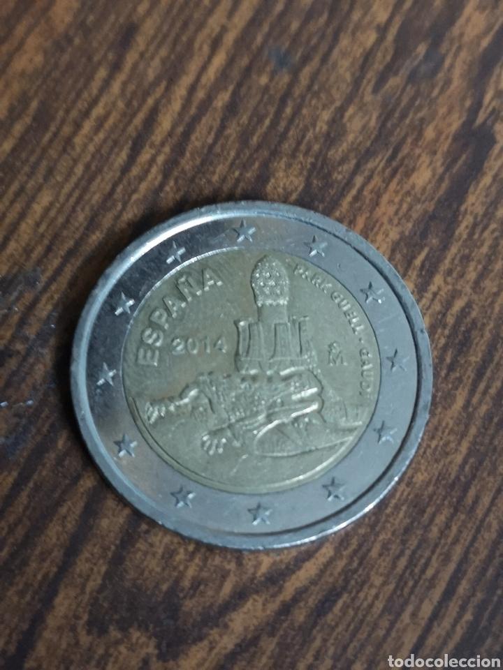 MO69. MONEDA DE 2 EUROS. ESPAÑA 2014 (Numismática - España Modernas y Contemporáneas - Felipe VI)