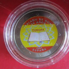 Monedas de Felipe VI: ESPAÑA. 2 EUROS CONMEMORATIVOS 2007. ESMALTADOS TRATADO DE ROMA. Lote 219316673