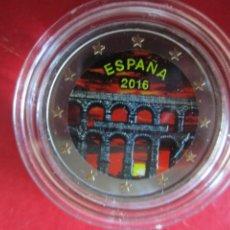 Monnaies de Felipe VI: ESPAÑA. 2 EUROS CONMEMORATIVOS ESMALTADOS 2016. SEGOVIA. Lote 219362107