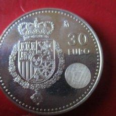 Monete di Felipe VI: ESPAÑA. MONEDA DE 30 EUROS DE PLATA AÑO 2014. Lote 219579970