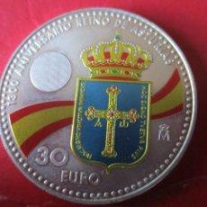 Monete di Felipe VI: ESPAÑA. MONEDA DE 30 EUROS DE PLATA AÑO 2018. ASTURIAS. Lote 219580811