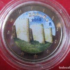 Monedas de Felipe VI: ESPAÑA. 2 EUROS CONMEMORATIVOS ESMALTADOS 2019. MURALLAS DE AVILA. Lote 221534278