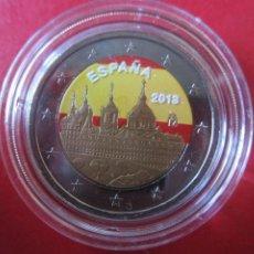 Monedas de Felipe VI: ESPAÑA. 2 EUROS CONMEMORATIVOS 2013 ESMALTADOS ESCORIAL. Lote 221534980