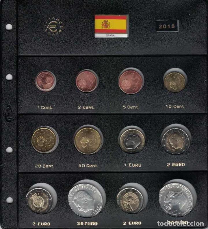 FELIPE VI AÑO COMPLETO 2018 SIN CIRCULAR (Numismática - España Modernas y Contemporáneas - Felipe VI)