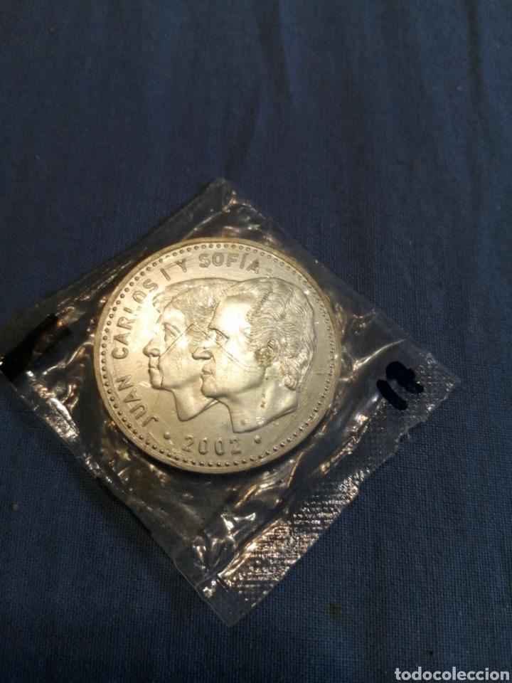 MONEDA PLATA PRECINTADA SIN CIRCULAR 12 € 2002 (Numismática - España Modernas y Contemporáneas - Felipe VI)