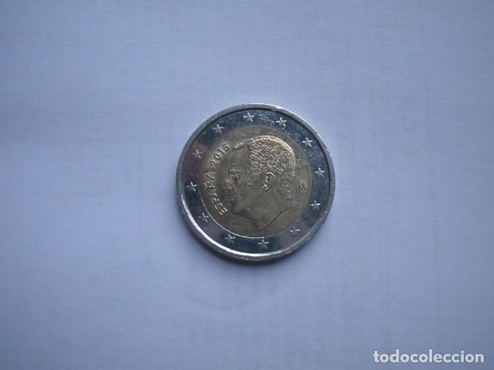 ESPAÑA 2 EUROS 2015 - MBC. (Numismática - España Modernas y Contemporáneas - Felipe VI)