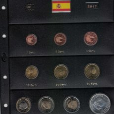 Monedas de Felipe VI: FELIPE VI AÑO COMPLETO 2017. SIN CIRCULAR. Lote 222389842