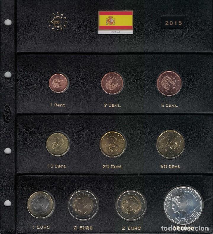 FELIPE VI AÑO COMPLETO 2015. SIN CIRCULAR. (Numismática - España Modernas y Contemporáneas - Felipe VI)