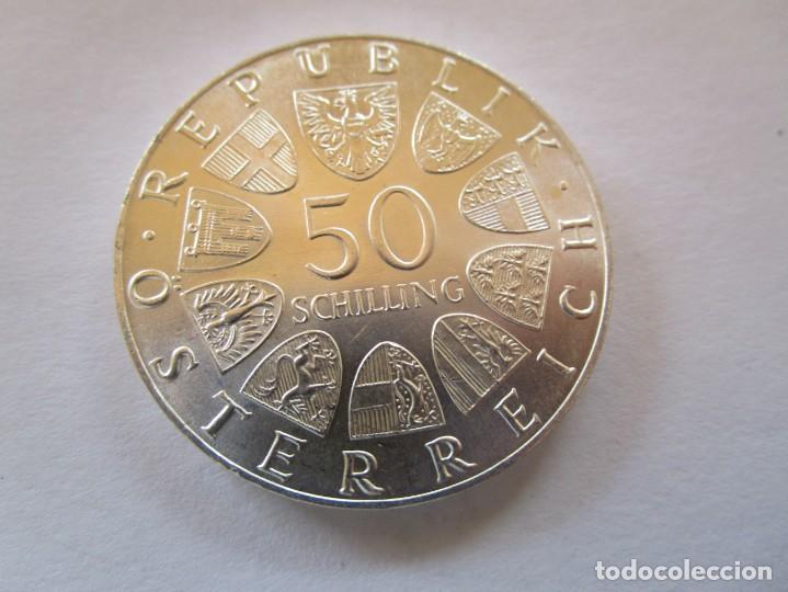 Monedas de Felipe VI: AUSTRIA . 50 SCHILLINGS DE PLATA ANTIGUOS . MAXIMA CALIDAD . SIN CIRCULAR Y BRILLANTE - Foto 2 - 222639650