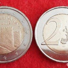 Monedas de Felipe VI: MONEDA 2 EUROS ESPAÑA 2019 CONMEMORATIVA MURALLAS DE AVILA SIN CIRCULAR NUEVA DE CARTUCHO ORIGINAL. Lote 224156712