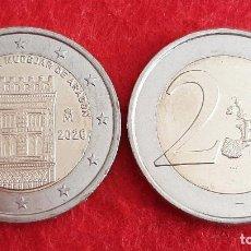 Monedas de Felipe VI: MONEDA 2 EUROS ESPAÑA 2020 CONMEMORATIVA ARQUITECTURA MUDEJAR ARAGON SIN CIRCULAR NUEVA DE CARTUCHO. Lote 224156840