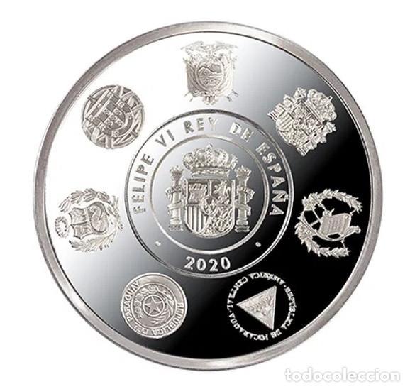 Monedas de Felipe VI: ESPAÑA 5 euro plata 2020 XII SERIE IBEROAMERICANA - TRENES HISTORICOS - Foto 2 - 253774400