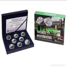 Monedas de Felipe VI: ESPAÑA PLATA 2020 XII SERIE IBEROAMERICANA - TRENES HISTORICOS. Lote 224275768