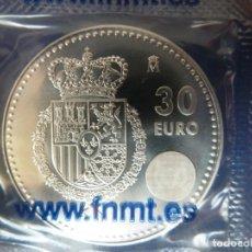 Monedas de Felipe VI: 30 EUROS 2014. NUEVO REINADO. Lote 224851676