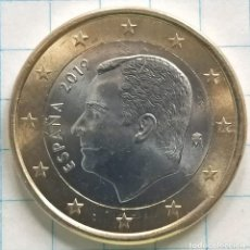 Monedas de Felipe VI: 1 EURO FELIPE VI 2019, ERROR AURA EN EL 1. VER FOTOS.. Lote 225471480
