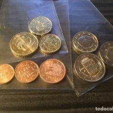 Monedas de Felipe VI: MONEDAS NUEVAS DE ESPAÑA 2020. 9 VALORES, CON 2€ CONMEMORATIVOS. PROCEDENTES DE CARTUCHOS.. Lote 225897100