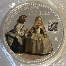 """Monedas de Felipe VI: 30 EUROS 2019 """"MENINAS"""". Lote 226370160"""