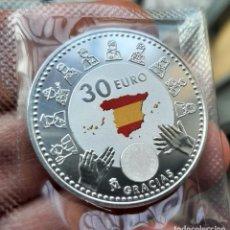 Monedas de Felipe VI: 30€ DE PLATA ESPAÑA 2020, SC. LUCHA CONTRA LA PANDEMIA COVID-19. Lote 231656280
