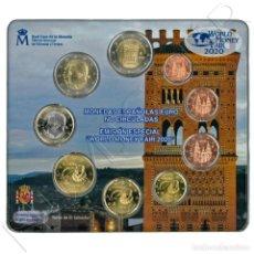 Monedas de Felipe VI: EUROSET ESPAÑA 2020 - WORLD MONEY FAIR '20 - BERLIN 2020. Lote 235018300