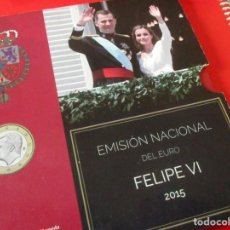 Monedas de Felipe VI: EUROSET 2015 DE LA FNMT. FELIPE VI. Lote 238266825