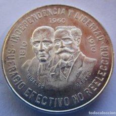 Monete di Felipe VI: MEXICO . 10 PESOS DE PLATA MUY ANTIGUOS . AÑO 1960 . BRILLO ORIGINAL. Lote 230576990
