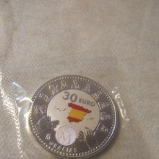 Monete di Felipe VI: MONEDA DE 30 EUROS DE PLATA. AÑO 2020. ESPAÑA. GRACIAS.. Lote 241546170