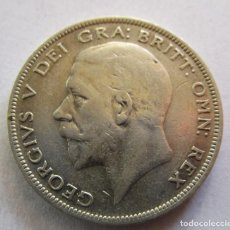 Monedas de Felipe VI: REINO UNIDO . MEDIA CORONA DE PLATA ANTIGUA . AÑO 1931 . MUY ATRACTIVA. Lote 241990485